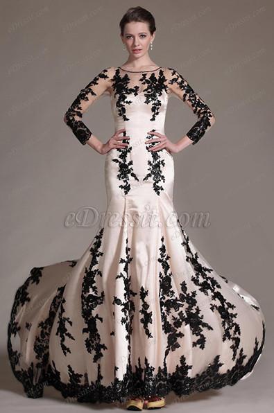 Картинки короткие вечерние платья с длинными шлейфами
