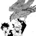 Ястреб с серебром на крыльях