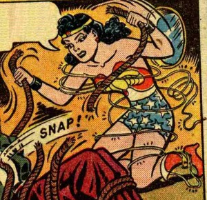 Wonderwoman Snapped