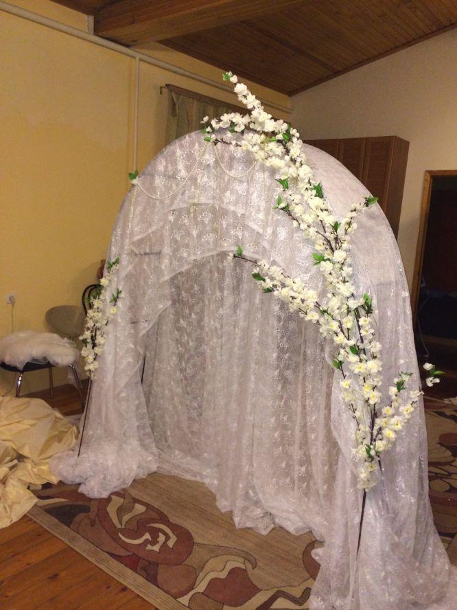 Как самой сделать арку на свадьбу 666