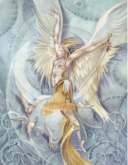 Рхема ангел Схемы вышивки