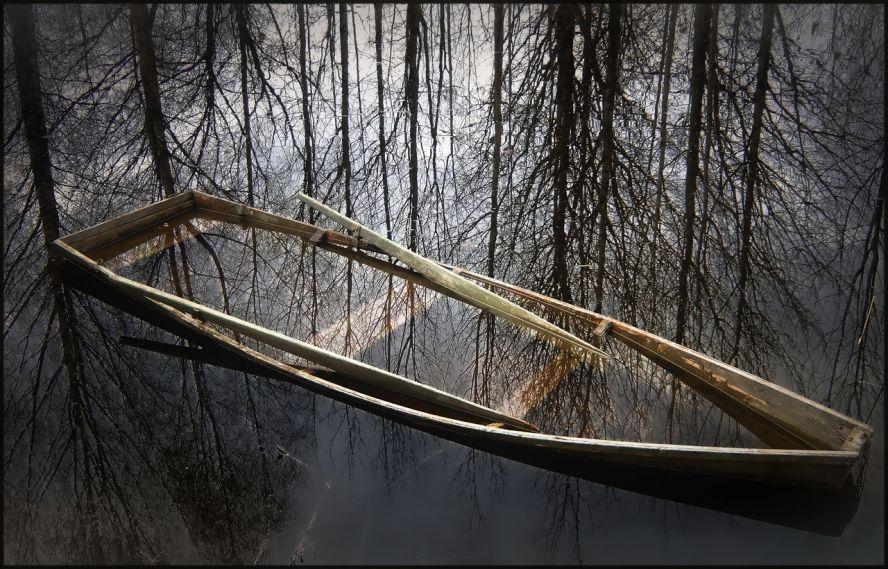 Лодка из камней
