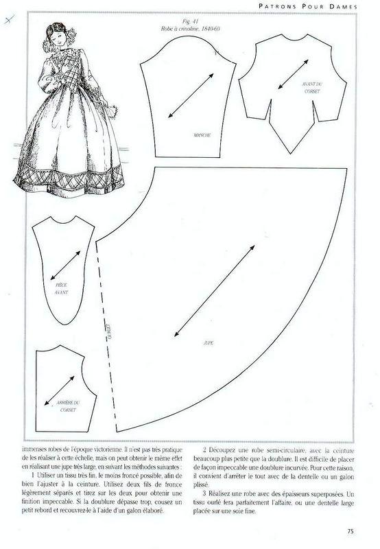 Сшить кукле платье своими руками выкройки для начинающих