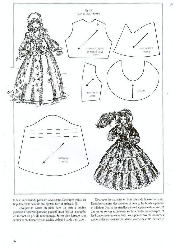 Сшить платье для куклы своими руками выкройки и пошаговая