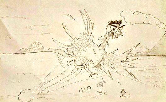 Летающая курица