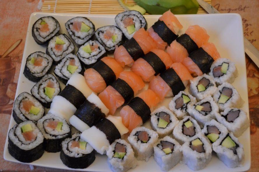 Как самому на дому сделать суши 642