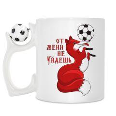 кружка с футбольным мячиком