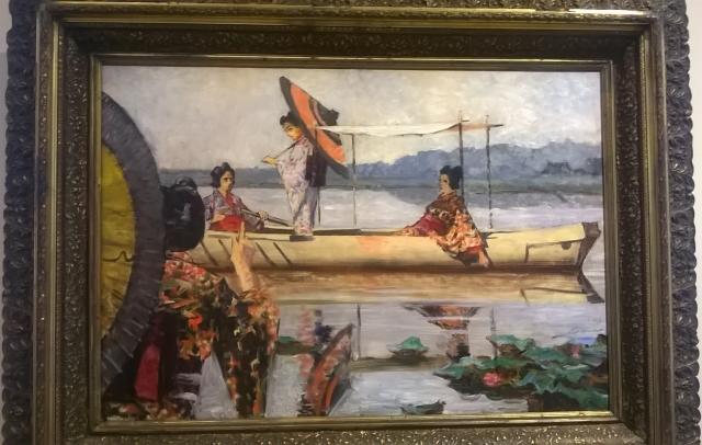 верещагин в.в прогулка в лодке