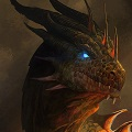 Blue-eyed Dragon