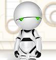 Depressiver Roboter