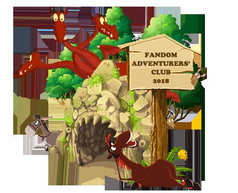 fandom Adventurers Club 2018