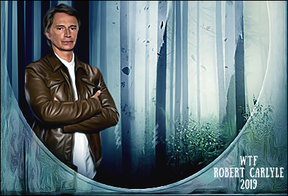 WTF Robert Carlyle 2019 Голд