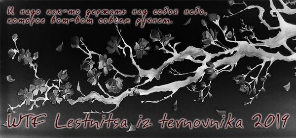 WTF Lestnitsa iz Ternovnika 2019