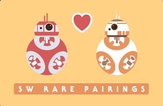 fandom SW rare pairings 2019