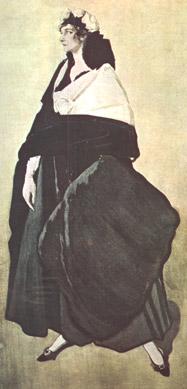 Портрет Иды Рубинштейн, 1921 г.