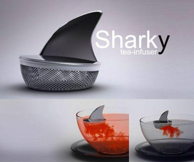 Sharky и другие интересные дизайнерские ситечки-заварники