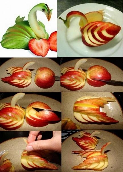 Как вырезать из фруктов в домашних условиях