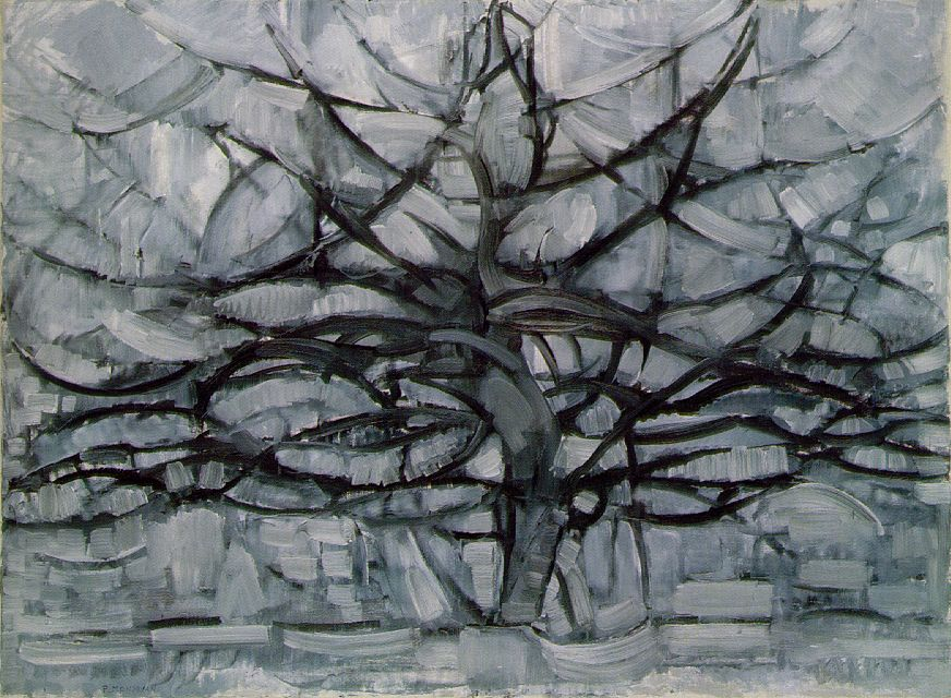 Серое дерево 1911, Пит Мондриан