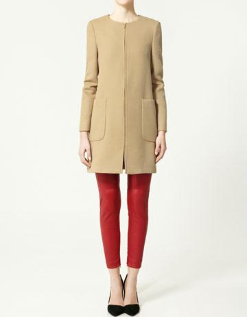 Coat women zara