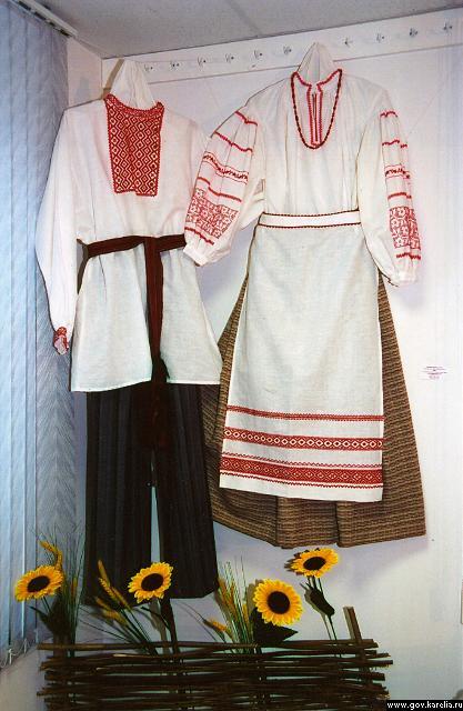 Описание: b Украинский женский национальный костюм - фото.  Как убрать соли на шее, Лечение шеи и Мышцы шеи анатомия.