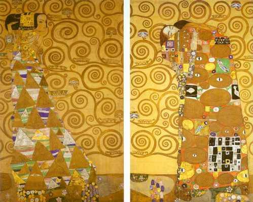 """Схема вышивки  """"Густав Климт """": таблица цветов."""