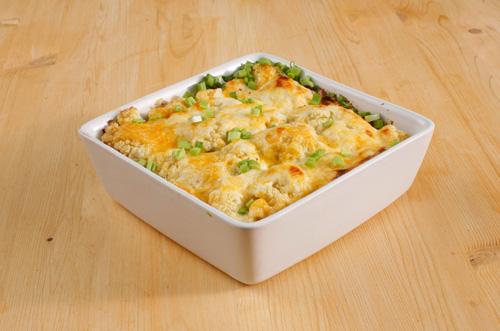 Рецепт цветной капусты в духовке с сыром и сливками
