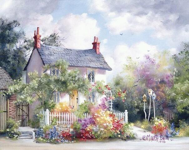 Картинки лето природа рисунки