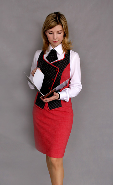 Комментарий: Деловой стиль в одежде для девушек.