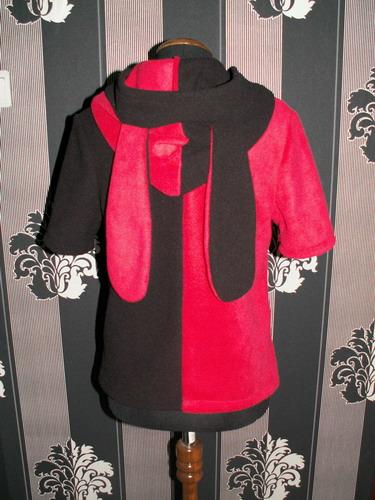 Кофта Черно Красная
