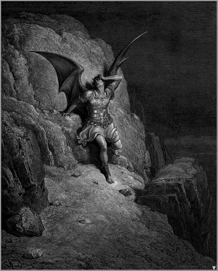 an analysis of the origin of sin and evil in john miltons epic poem paradise lost