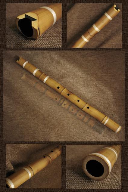 Как сделать бамбуковую флейту своими руками 70