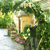 Арка из орхидей в Беладжо (лето 2006).