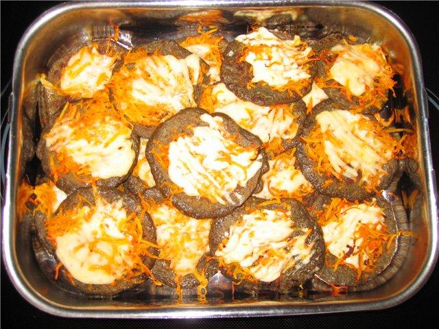 Печёночные оладьи рецепт в духовке