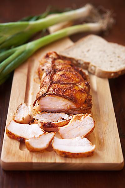 Куриная пастрама с паприкой и мёдом
