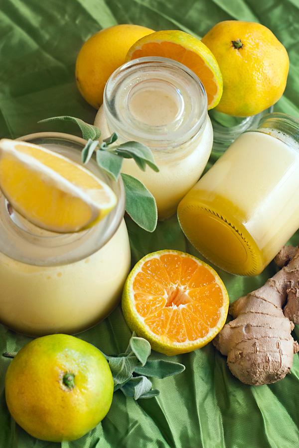 рецепт желе из имбиря и лимона