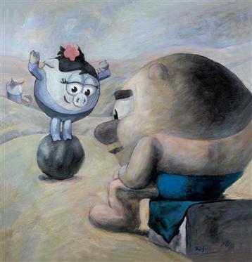 Смешарики в мировой живописи