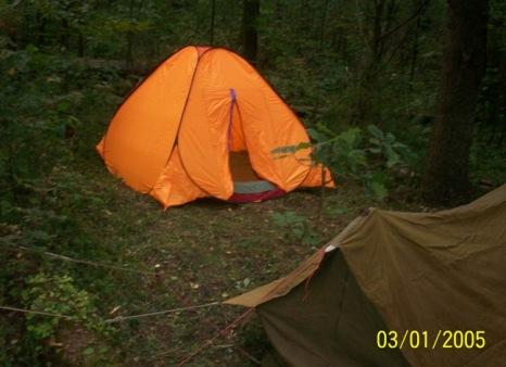 Дёмина палатка