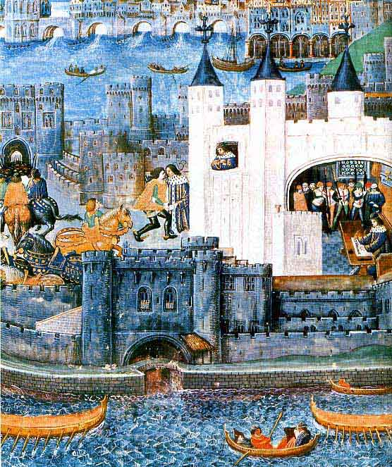 Карл Шарль I Орлеанский в плену в Англии