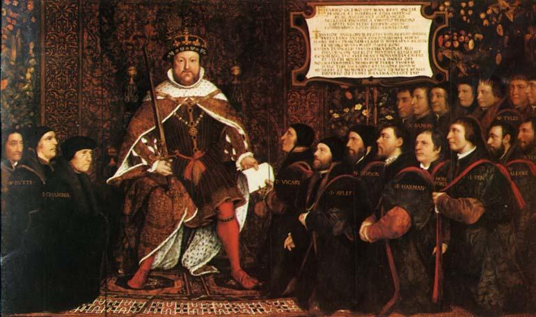 16 век англия