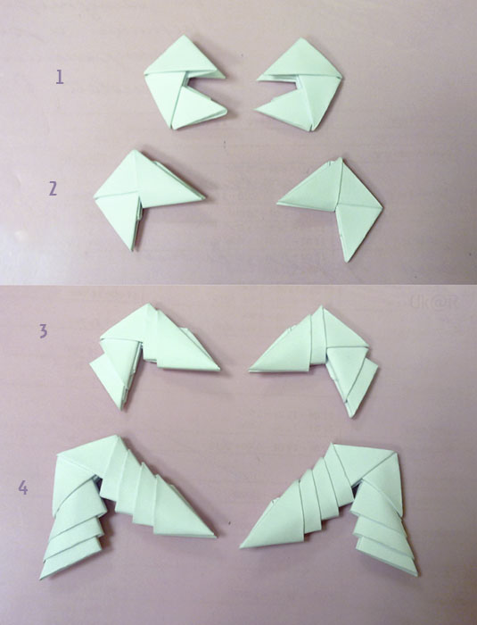 Как сделать скорпиона из модульного оригами