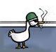 маленькая сторожевая утка