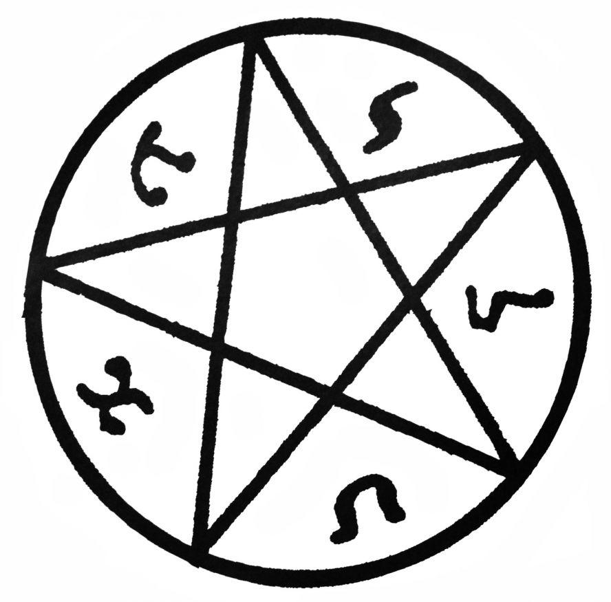 Сверхъестественное картинки символов