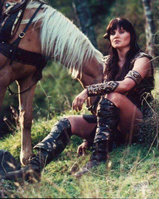 Амазонки принцесса воин сена или ксена секс порно