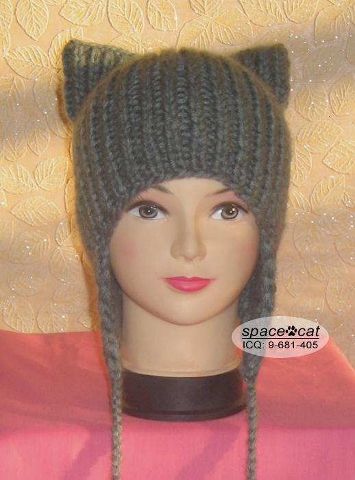 шапка с ушками вязание вязание