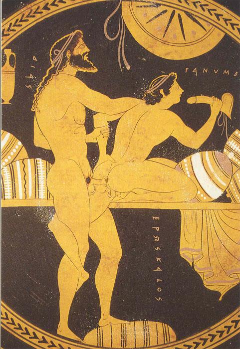 Зевс и Ганимед в интиме