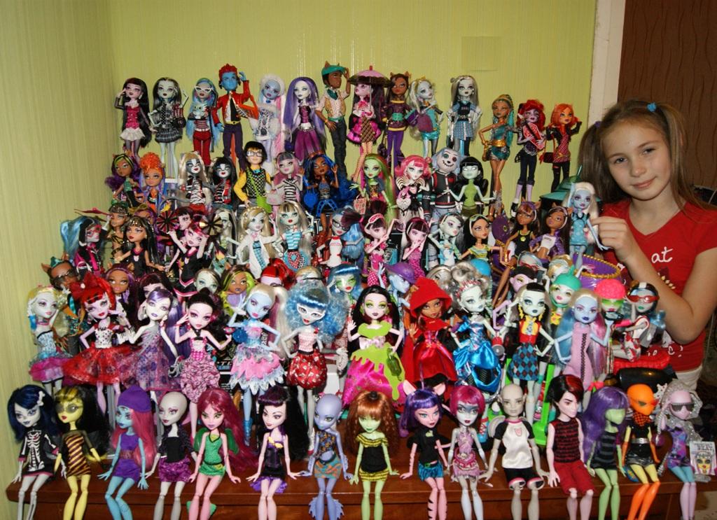 монстр хай куклы фото смотреть