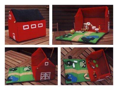 Как сделать для игрушечных животных домик
