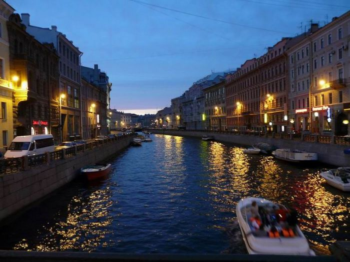 Вечерний петербург экскурсии