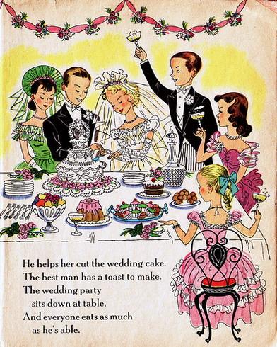 Поздравления с днем свадьбы от родственников прикольные