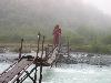 Мост через реку Аккем. Лето 2005.